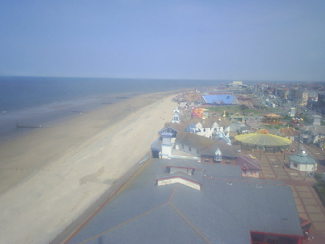 View East from Rhyl Sky Tower