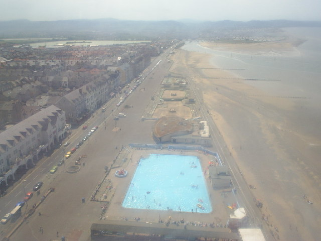 View West from Rhyl Sky Tower