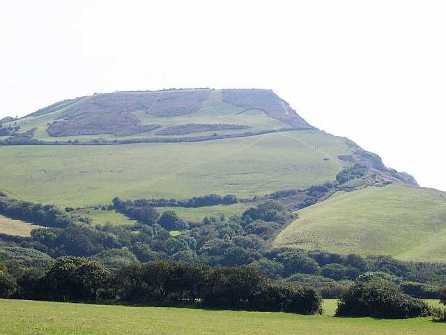 Golden Cap from the west