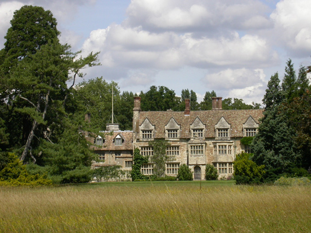 Anglesey Abbey viewed from South Park