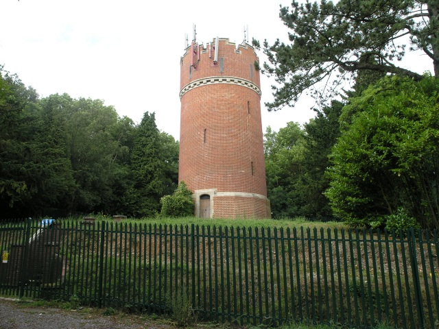 Water Tower on Gravelly Hill