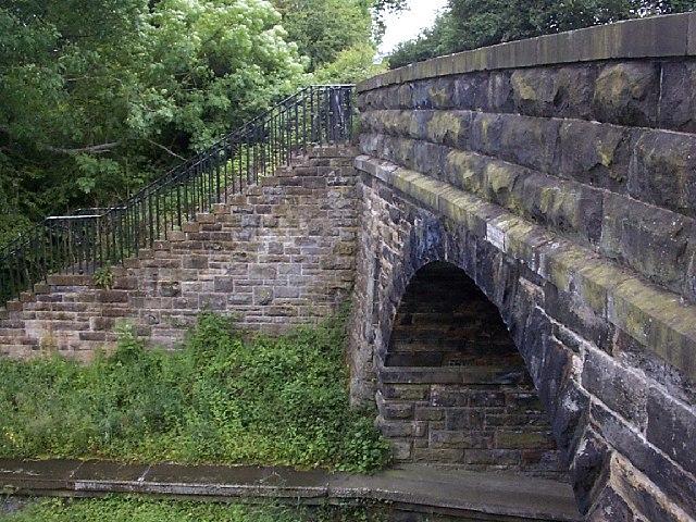 Old Lintz Green Station Bridge
