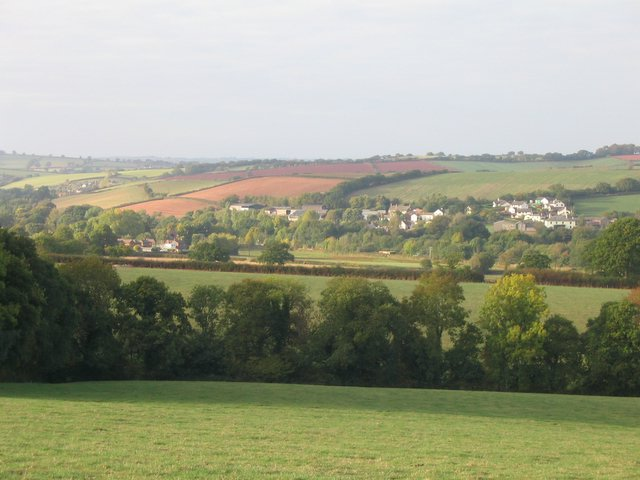 Yeoford village