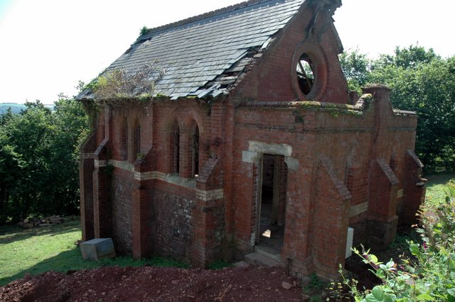 Old chapel undergoing conversion to house