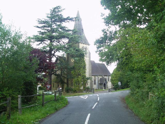 Colemans Hatch church