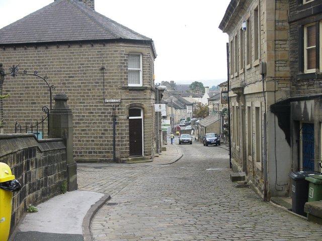 Church Street in Honley