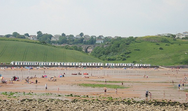 Across Broadsands Beach