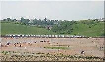 SX8957 : Across Broadsands Beach by Tony Atkin