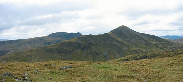 Ben Vorlich from the top of Meall na Fearna