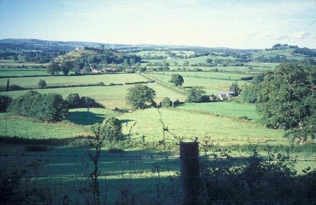 Dryslwyn Fawr and Dryslwyn Castle