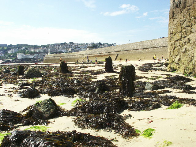 Smeatons Pier, St. Ives, Cornwall