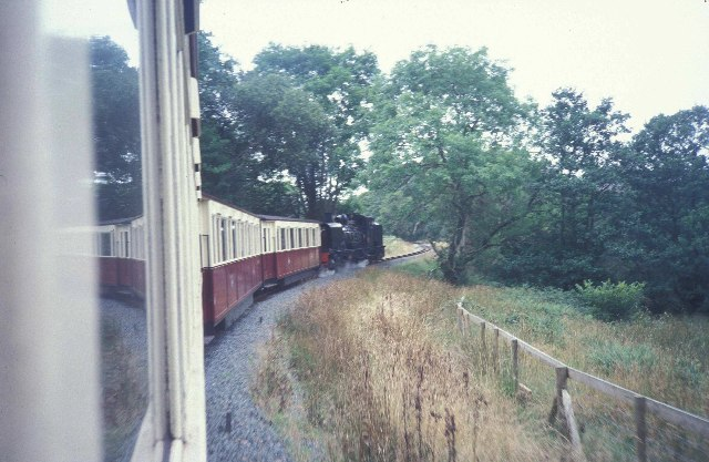 Welsh Highland Railway near Waunfawr