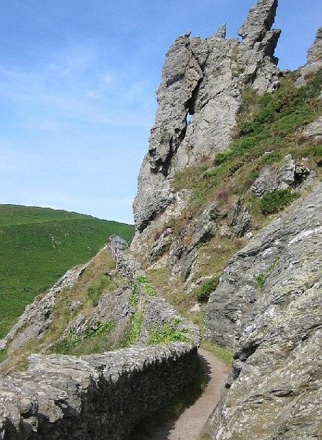 The Coast Path around Sharp Tor