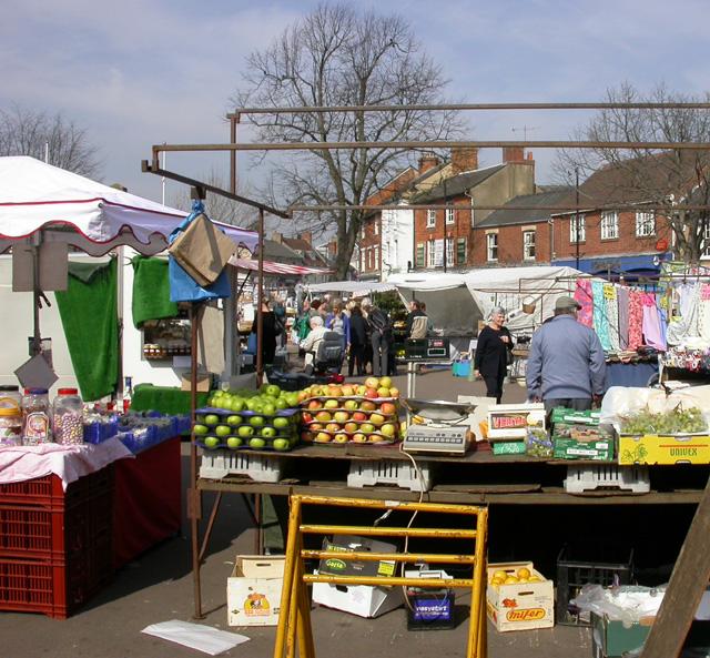 Market Day, Olney