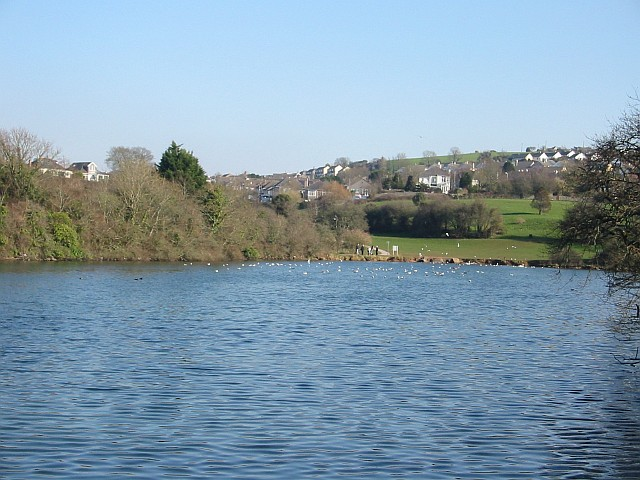 Radford Lake in Plymstock