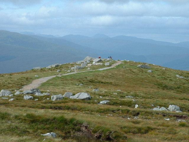 Viewpoint on footpath near Aonach Mor gondola