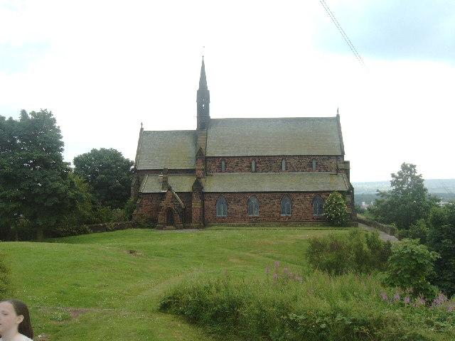 View from Runcorn Castle