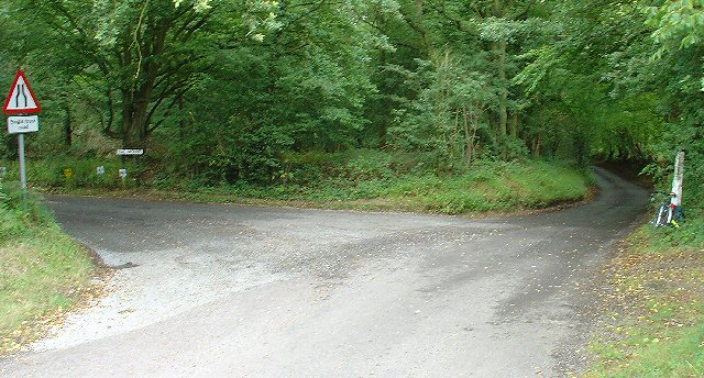 Junction of The Mount and Prestwood Lane, near The Mount, Rusper, West Sussex