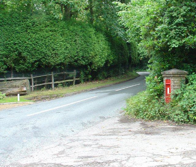 Victorian Post Box, Handcross Lane, near Balcombe, West Sussex