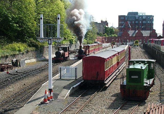 Douglas Station - Isle of Man