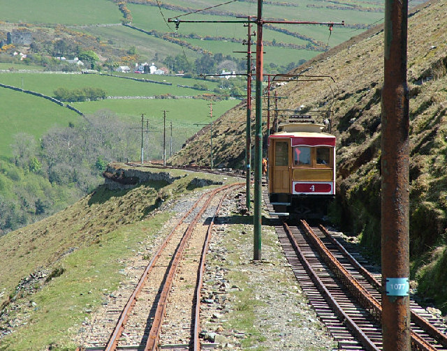 Snaefell Mountain Railway - Isle of Man