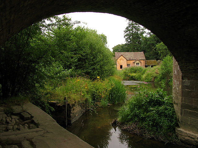 Old Mill on the River Teme