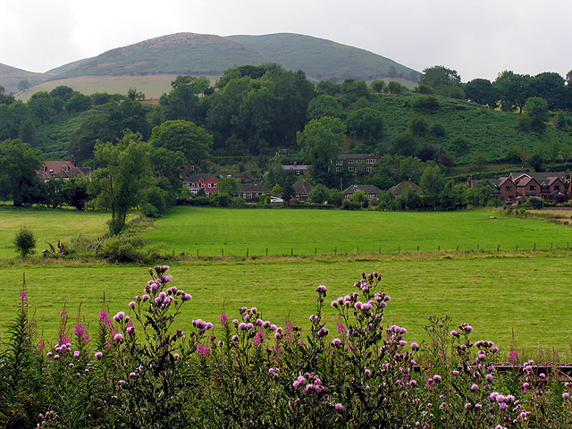 Farmland near Little Stretton