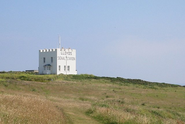 Lloyds Signal Station above Bass Point