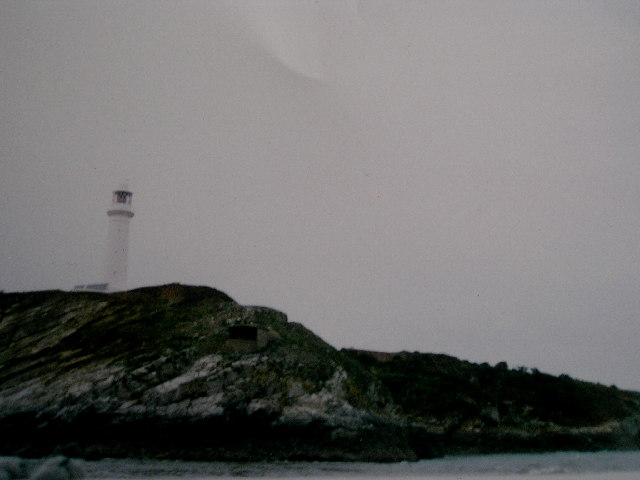 Flat Holme lighthouse