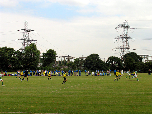 Football Ground and Sub station