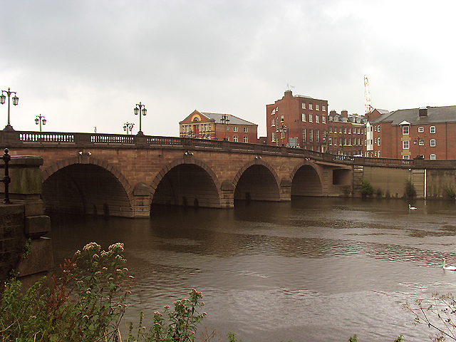 Bridge over the River Severn at Worcester