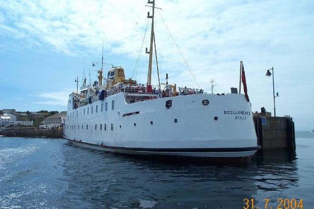 Hugh Town harbour - Scillies