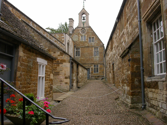 Street inside Rockingham Castle