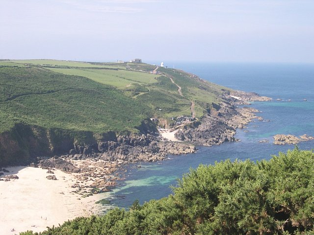 Portheras Cove and Pendeen Cliffs