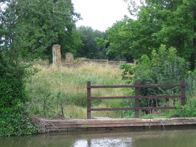 Alvecote Priory and the Coventry Canal