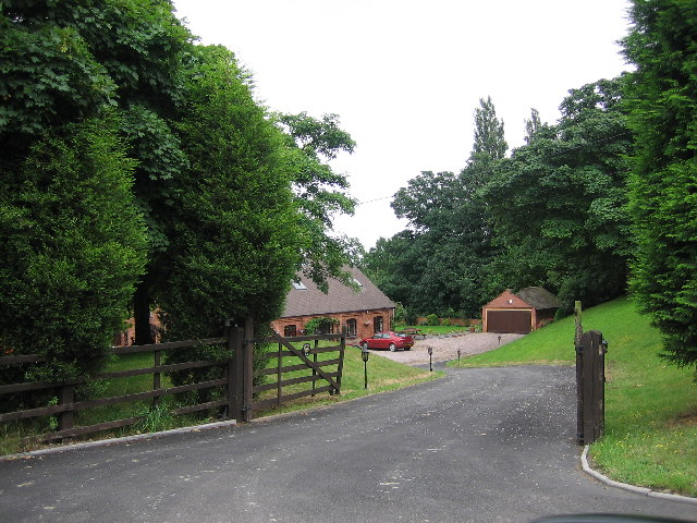 Property next to Pooley Hall