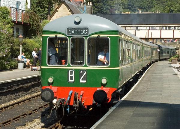 Wickham Class 109 at Llangollen Station.