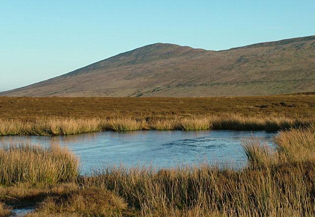 Above Glen Auldyn - Isle of Man
