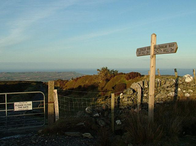 On the Millennium Way - Isle of Man