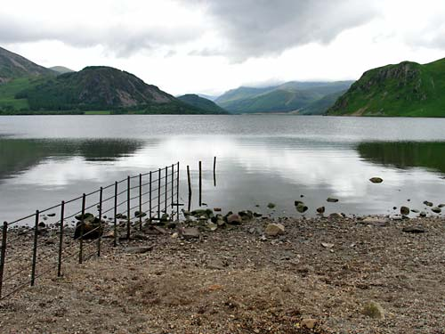 Ennerdale Water, Bowness Knott and Anglers Crag