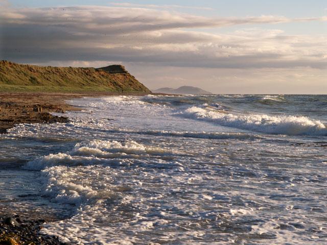 Beach at Ballaugh Cronk.   Isle of Man