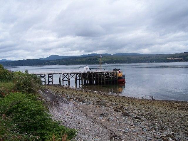 Blairmore Pier