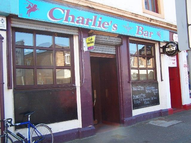 Charlie's bar, Ardrossan