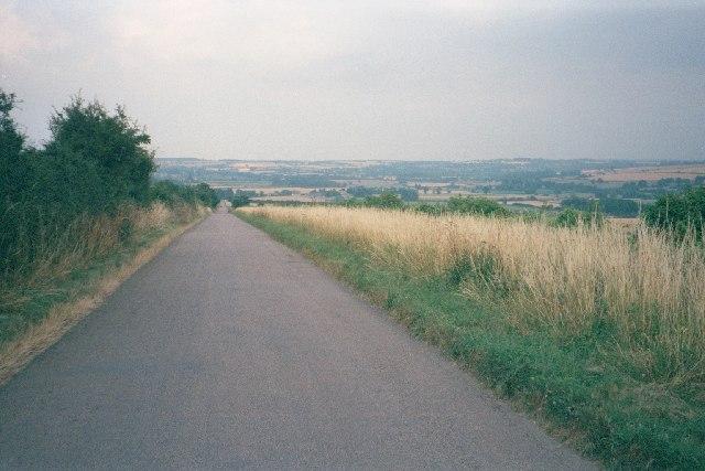 Straight road east