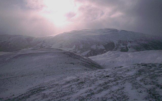 South Ridge of Carn Liath