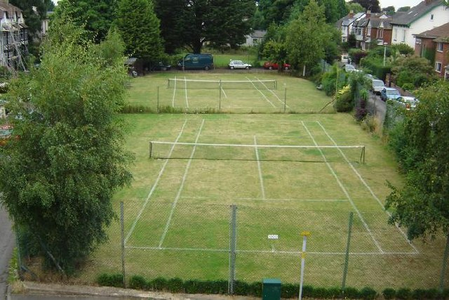 Kingsholm Square Tennis Courts, Gloucester