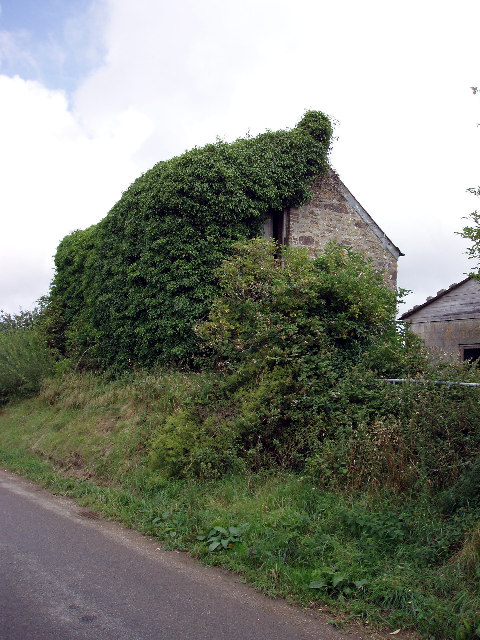 Old Cornish barn near Trerice