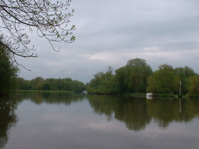 The Thames at Sandford