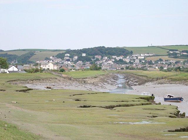 River Caen out of Braunton