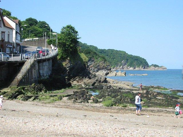 Combe Martin beach